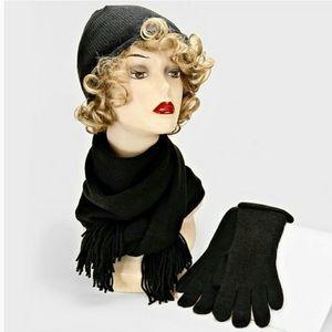 Beanie Scarf Glove Set